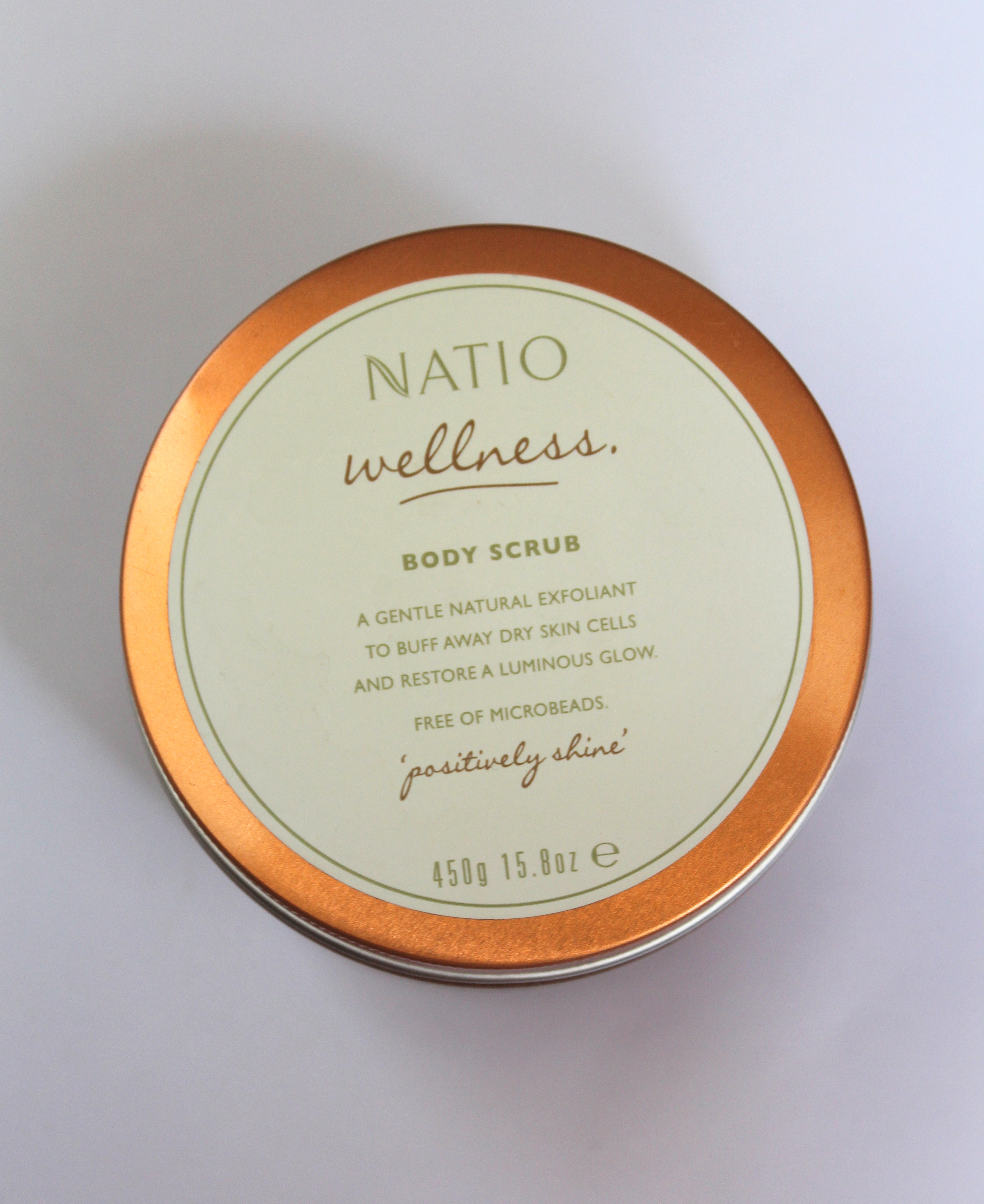 Natio Wellness Body Scrub review - HuesofMe Blog