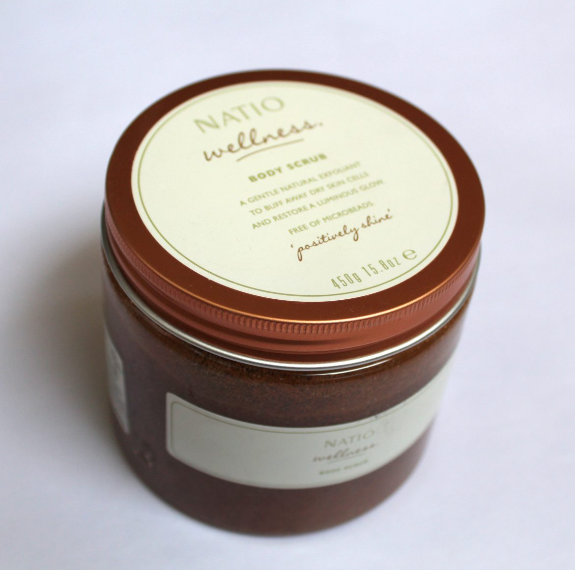 Natio Wellness Body Scrub review