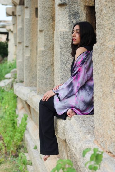 Hampi, Fashion editorial, Huesofme, Alpa & Reena Designer Cape