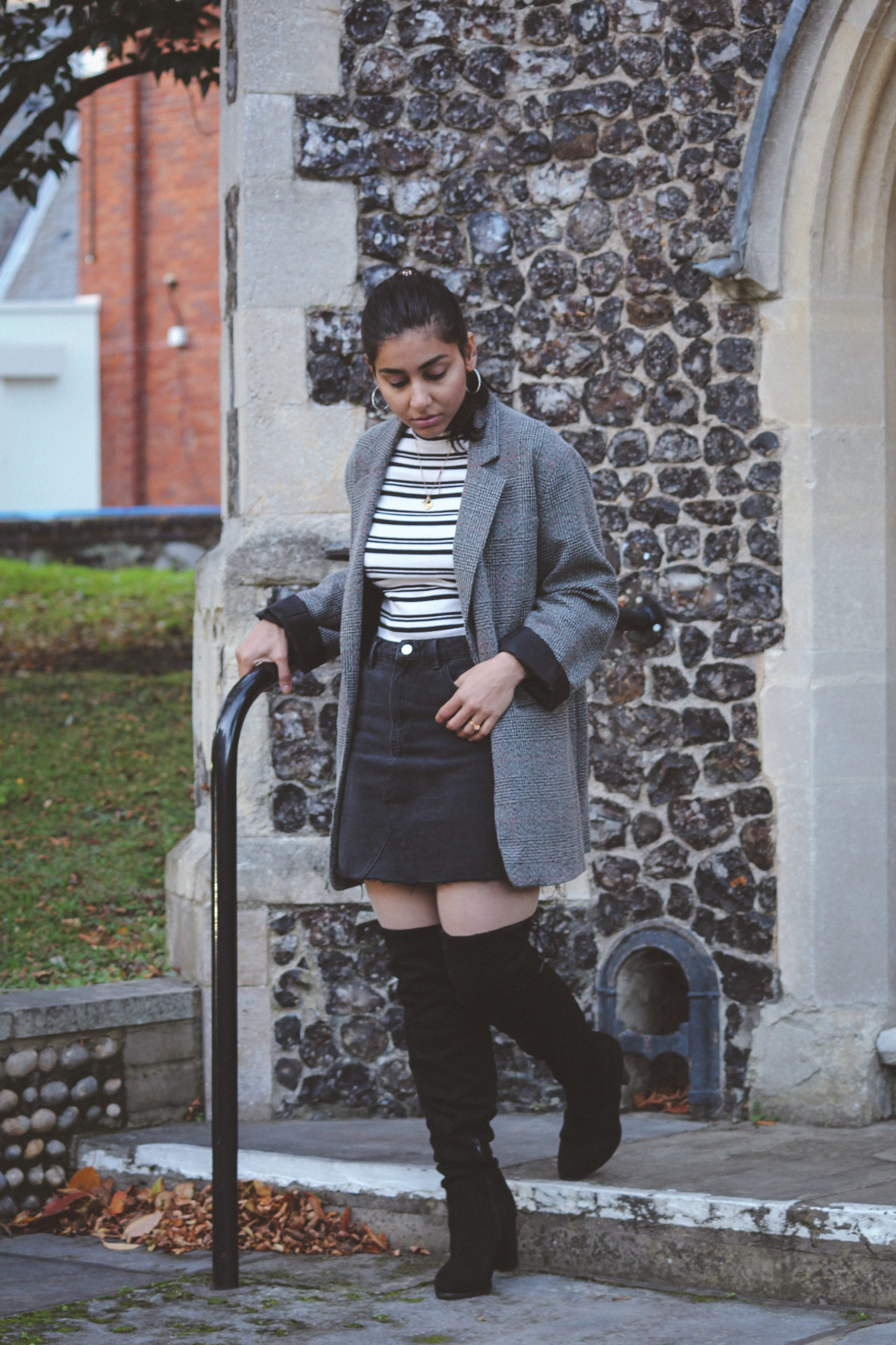 Styling thigh high boots