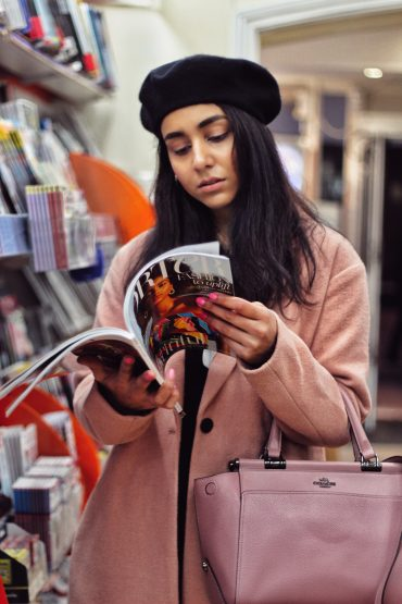 How to style Millennial pink coat during winters