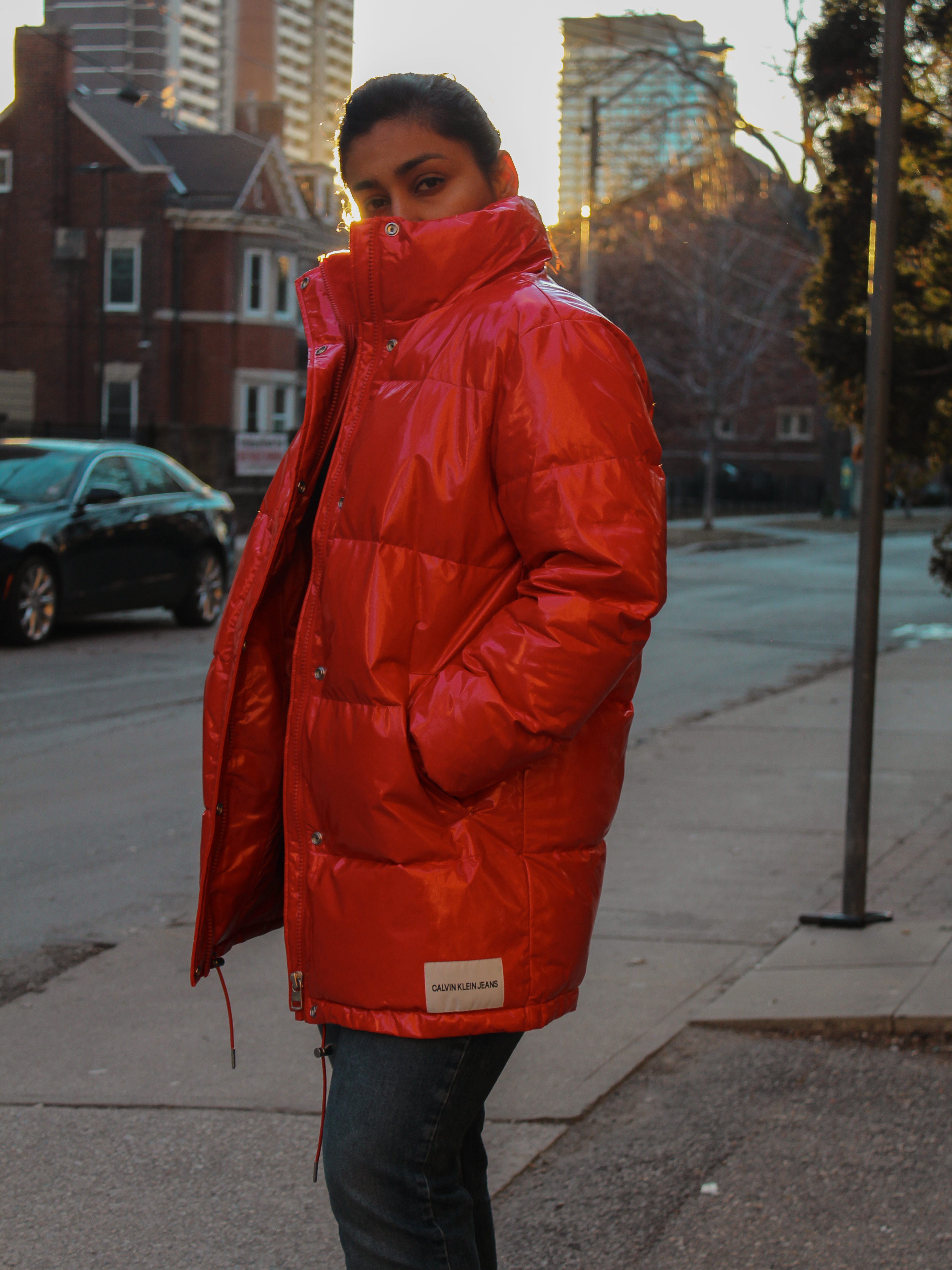 How to style a puffer jacket, Huesofme Blog, Toronto street style Blog