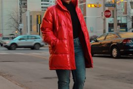 How to style a puffer jacket, Huesofme Blog